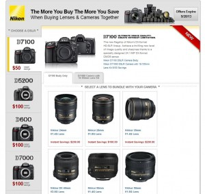 Nikon rebates