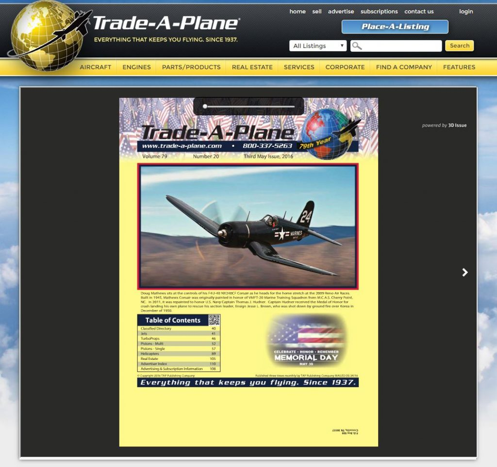 Tradeaplane Third May issue 2016
